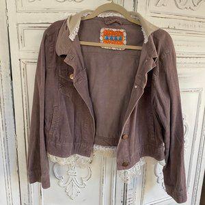 Vintage Inspired Boho Jacket - S-M